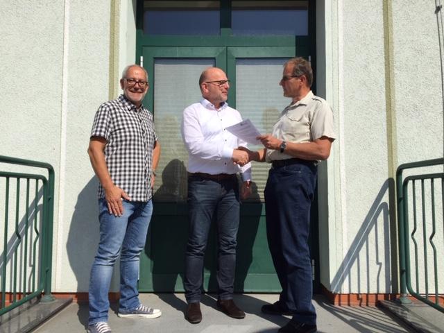 """Stadtwerke unterstützen die Grundschule """"Am Markt"""" in Raguhn-Jeßnitz"""