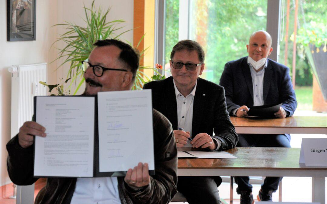 Stadtwerke betreten Neuland – Zusammenarbeit mit städtischen Gesellschaften bei der Erschließung des Wohngebietes Fuhneanger II