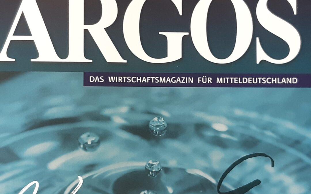 Stadtwerke-Chef Christan Dubiel mit Interview im Wirtschaftsmagazin ARGOS