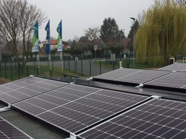 Unsere neue PV-Anlage ist fertig