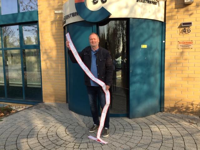 Stadtwerke organisieren Anschauungsunterricht für Thalheimer Fussball-Nachwuchs