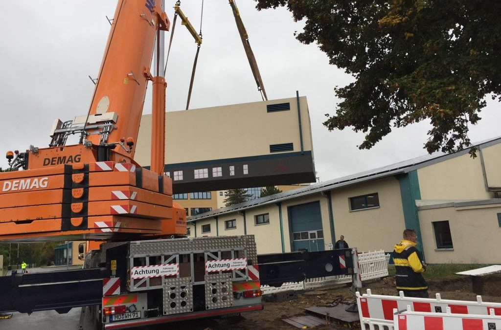 Transformatorenstation komplettiert neues BHKW